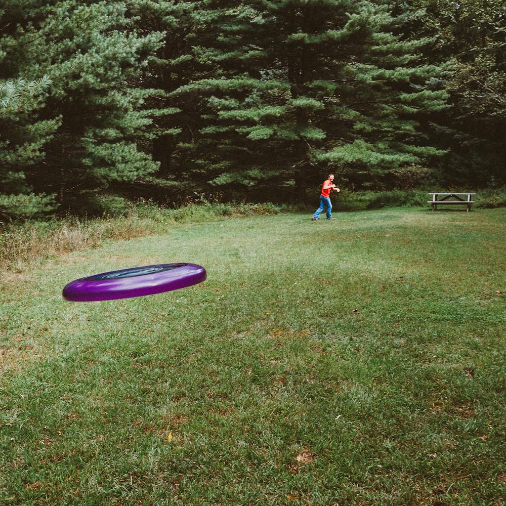 Lunch Break Frisbee
