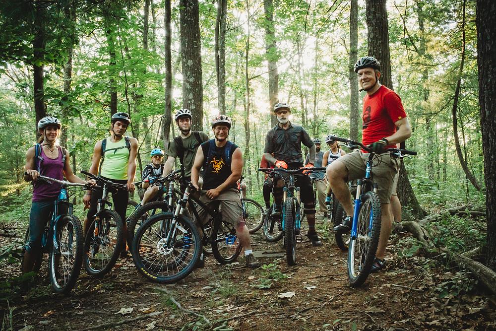 Sickler's Ride at Moon Lake State Park