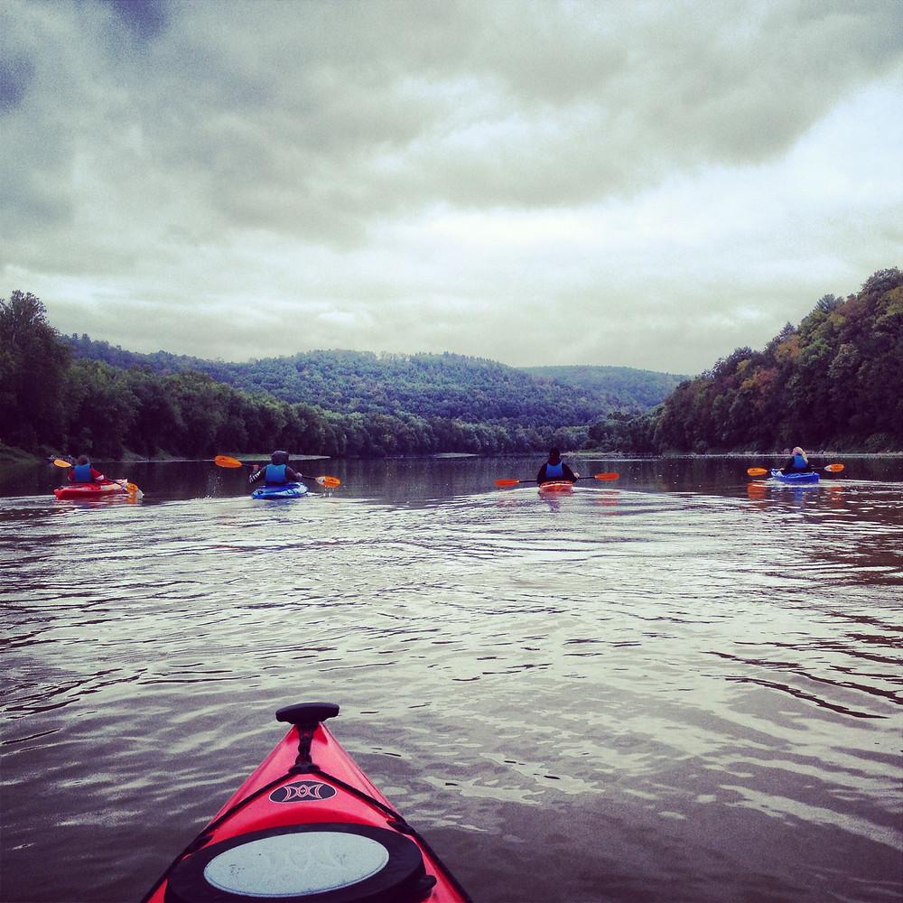 Kayaking the good ol' Susquehanna River