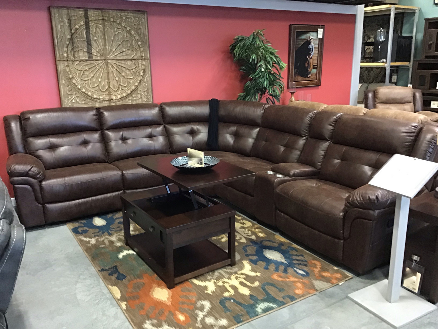 Remmington Reclining Sectional