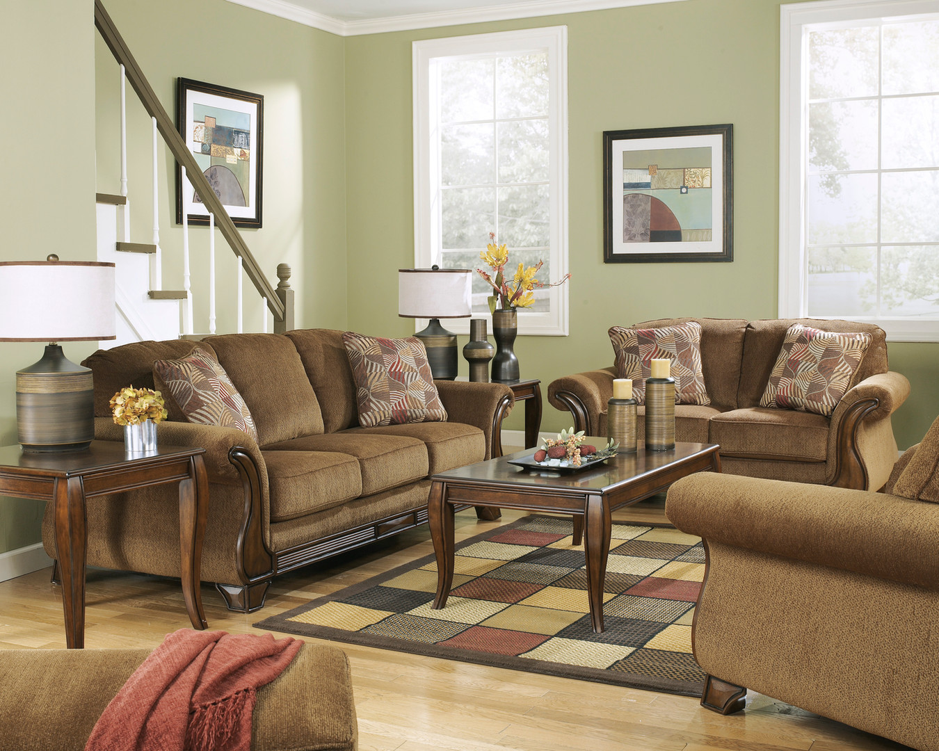 The Montgomery Sofa Set.