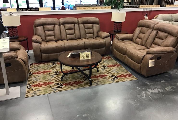 The Infinity 3 pc reclining set