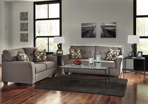 The Tibbee Sofa & Loveseat