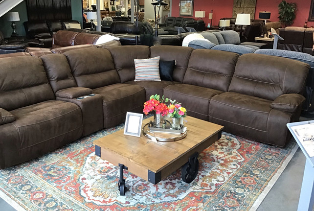 The Wrangler Reclining Sectional