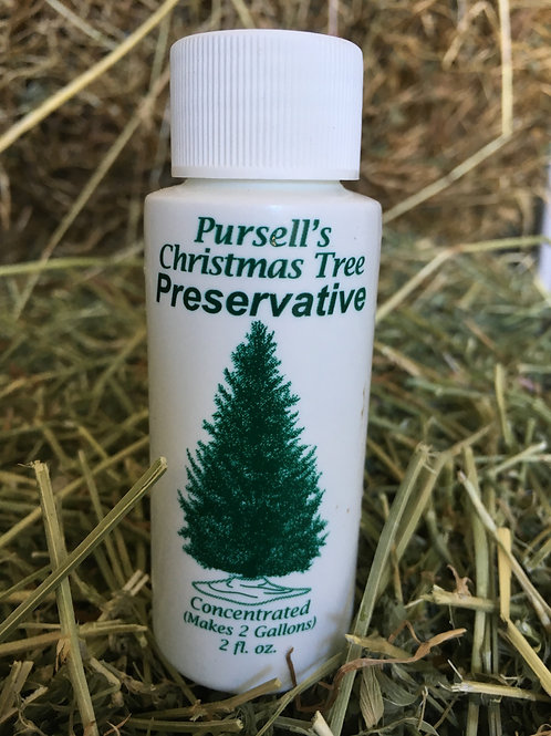 Pursell's Christmas Tree Preservatives