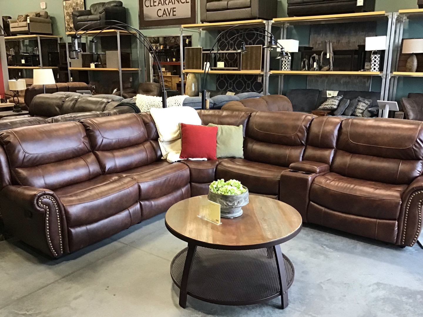 The Ryland Reclining Sectional