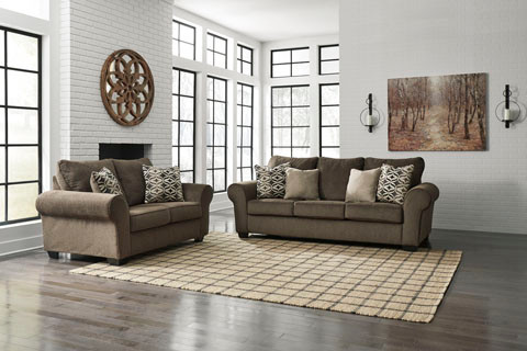 The Nesso Sofa Set.