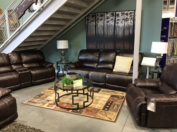 The Dallas 3 pc reclining set