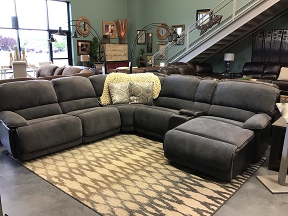 Granite Reclining Sectional