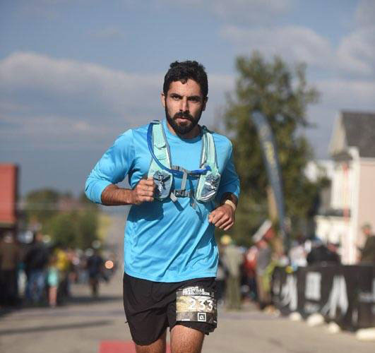 Ultra-Marthon Finish in Leadville