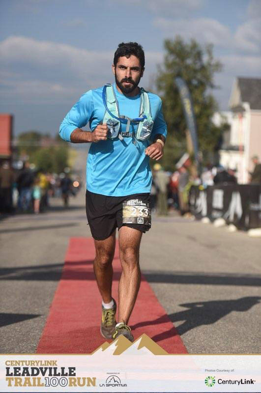 Ultra-Marthon Finish in Leadville