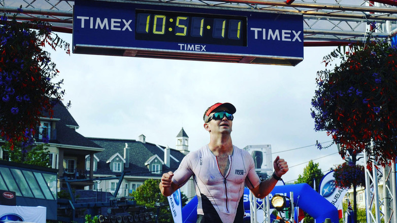 Another Strong IRONMAN Finish