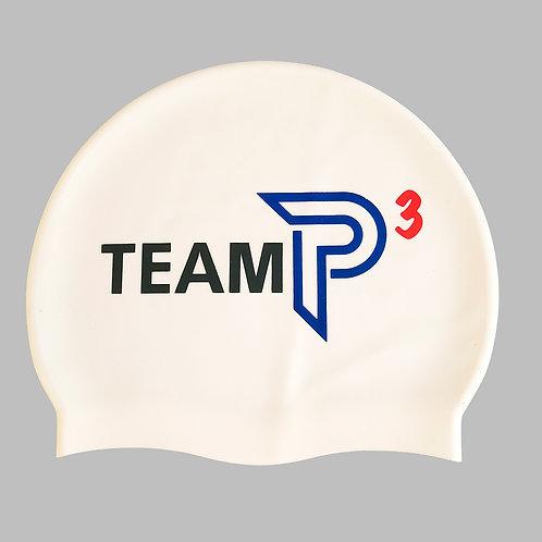 Super Soft Silicone TEAM P3 Swim Cap
