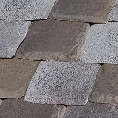 Ludowici Roof Tile Cotswold Shingle Tile Swatch