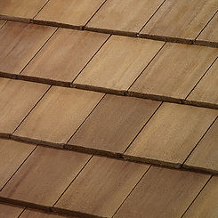 Boral Tile Roofing Saxony Slate Impact Resistant Tile Swatch
