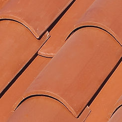 Ludowici Roof Tile Straight Barrel Mission Swatch