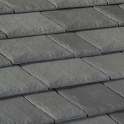Ludowici Roof Tile Lexington Slate Swatch