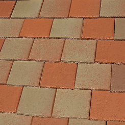 Ludowici Roof Tile Calais Clay Shingle Tile Swatch