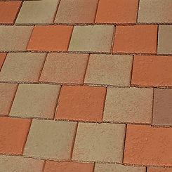 Ludowici Roof Tile Calais Clay Shingle Tile Swatch