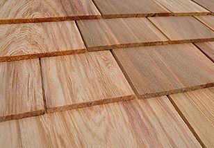 Watkins #2 Red Lable Cedar Shingles Swatch