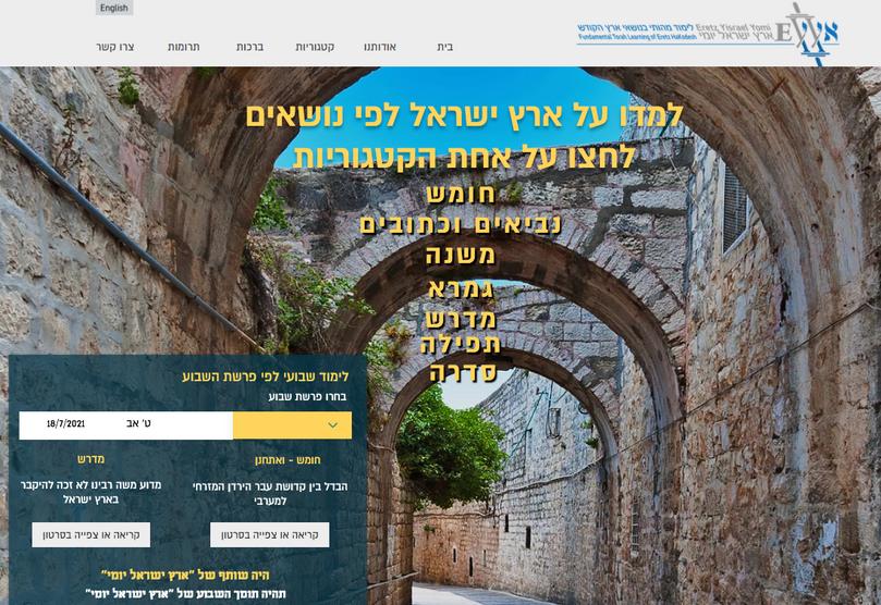 Eretz Iysrael Yomi