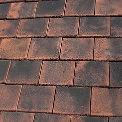 Ludowici Roof Tile Norman Terra Cotta Shingle Tile Swatch