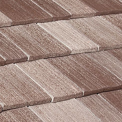 Ludowici Roof Tile Century Shake Clay Tile Swatch