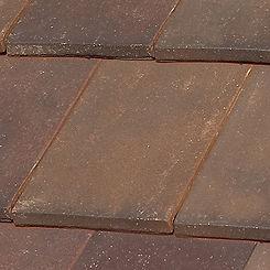 Ludowici Roof Tile Lanai Flat Interlocking Clay Tile Swatch