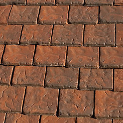 Ludowici Roof Tile Brittany Clay Shingle Tile Swatch