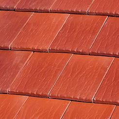 Ludowici Roof Tile Americana Flat Interlocking Clay Tile Swatch