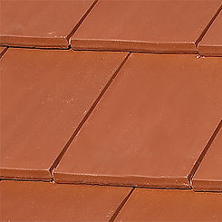 Ludowici Roof Tile Classic Flat Interlocking Clay Tile Swatch