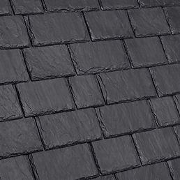 DaVinci Roofscapes Multi-Width Slate Slate Black Swatch
