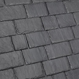 DaVinci Roofscapes Multi-Width Slate Smokey Gray Swatch
