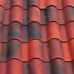 Ludowici Roof Tile Spanish Terra Cotta Swatch