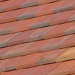 Ludowici Roof Tile Morando Closed Shingle Tile Swatch