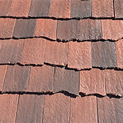 Ludowici Roof Tile Antique Clay Shingle Tile Swatch