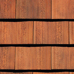 Ludowici Roof Tile Georgian Clay Shingle Tile Swatch
