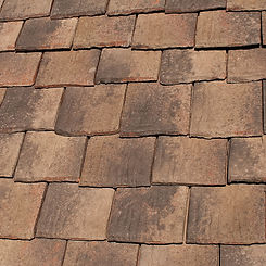 Ludowici Roof Tile Colonial Clay Shingle Tile Swatch