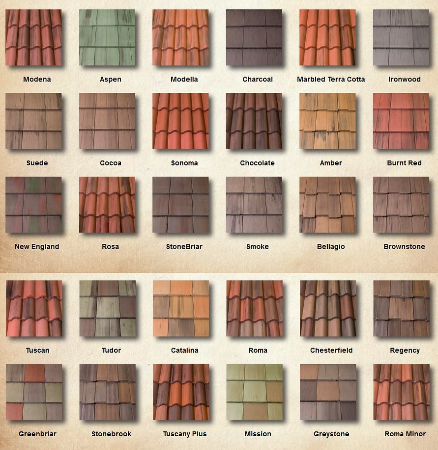 Stoneworth Tile Colors Swatch