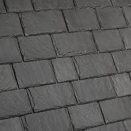 DaVinci Roofscapes Multi-Width Slate Slate Gray Swatch