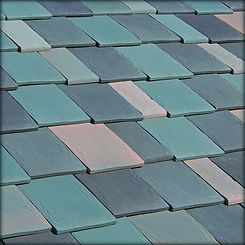 Ludowici Roof Tile LudoSlate Tile Swatch