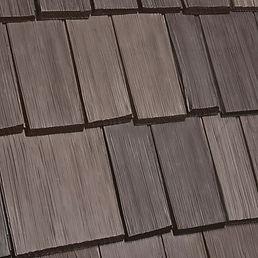DaVinci Roofscapes Bellaforte Shake Tahoe-VariBlend Swatch
