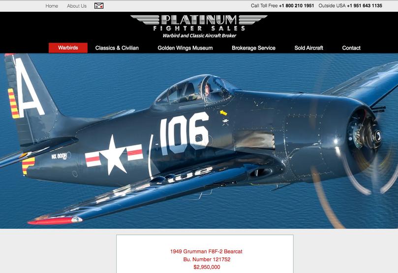 Platinum Fighter Sales