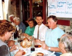 """Mittagessen in einem """"bouchon lyonnais"""""""