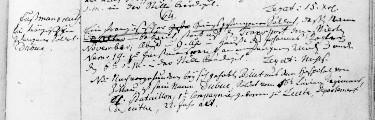 zweier französischer Beurkundung des Todes Soldaten – Auszüge aus dem Regnitzlosauer Kirchenbuch von 1813