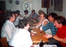 Die Beherbergung von 40 über die Prager Botschaft geflüchteten DDR-Bürgern im Gästehaus von Mitte Oktober 1989 bis März 1990 war für die DFG eine organisatorische Herausforderung, der sie sich gerne stellte.