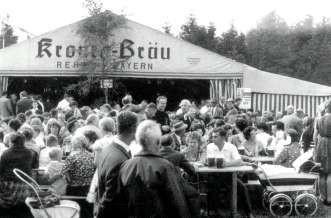 Festzelt in Faßmannsreuth/Ludwigsbrunn