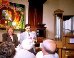 ... und für die Anschaffung der Orgel.