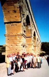 Auf der Pont du Gard