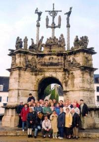 Bretagne - Calvaire in Pleyben